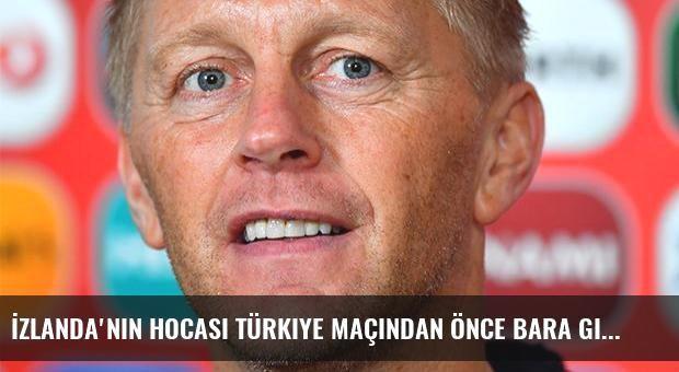 İzlanda'nın hocası Türkiye maçından önce bara gidecek!