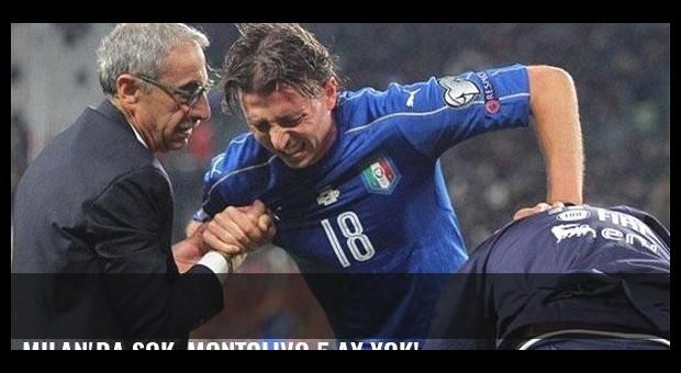 Milan'da şok, Montolivo 5 ay yok!