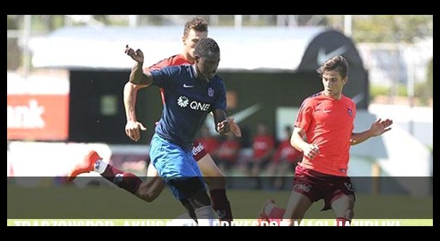 Trabzonspor, Akhisar Belediyespor maçı hazırlıklarını sürdürdü