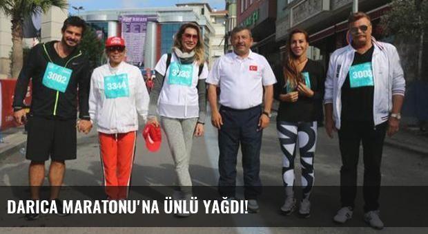 Darıca Maratonu'na ünlü yağdı!