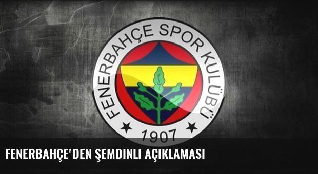 Fenerbahçe'den Şemdinli açıklaması
