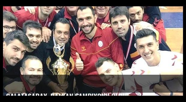 Galatasaray, Balkan Şampiyonu oldu!