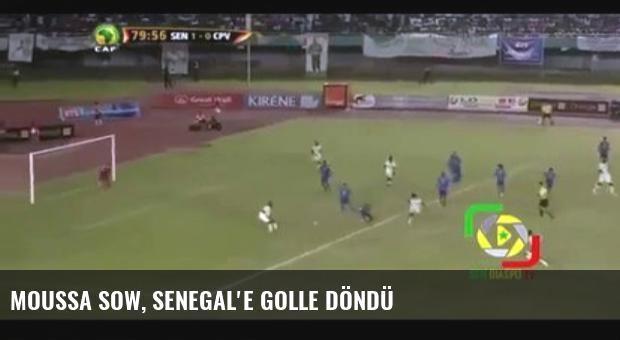 Moussa Sow, Senegal'e Golle Döndü