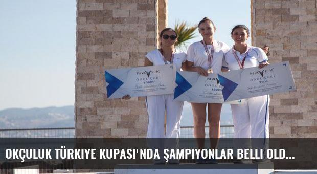 Okçuluk Türkiye Kupası'nda şampiyonlar belli oldu