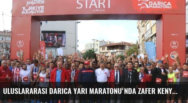 Uluslararası Darıca Yarı Maratonu'nda Zafer Kenyalı Atletin Oldu