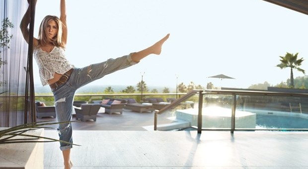 Jennifer Aniston güne bu muhteşem evde uyanıyor