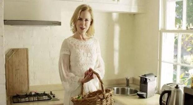 Ünlü oyuncu Nicole Kidman huzuru çiftlikte buldu
