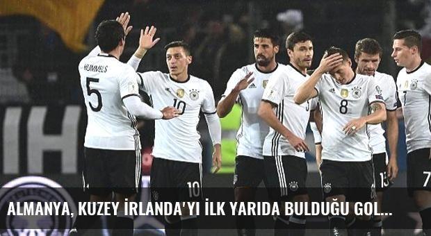 Almanya, Kuzey İrlanda'yı İlk Yarıda Bulduğu Gollerle 2-0 Yendi