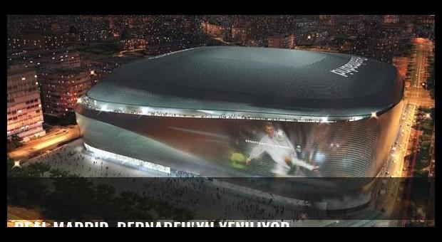 Real Madrid, Bernabeu'yu yeniliyor