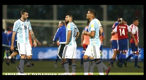 Arjantin'e Paraguay şoku!