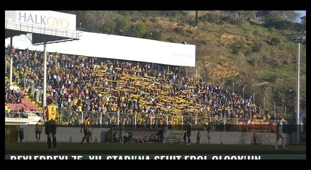 Beylerbeyi 75. Yıl Stadı'na şehit Erol Olçok'un adı veriliyor