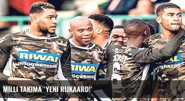 Milli takıma 'Yeni Rijkaard!'