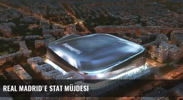 Real Madrid'e stat müjdesi