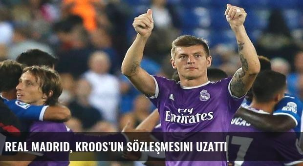 Real Madrid, Kroos'un sözleşmesini uzattı
