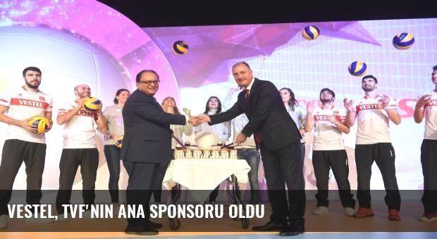 Vestel, TVF'nin ana sponsoru oldu