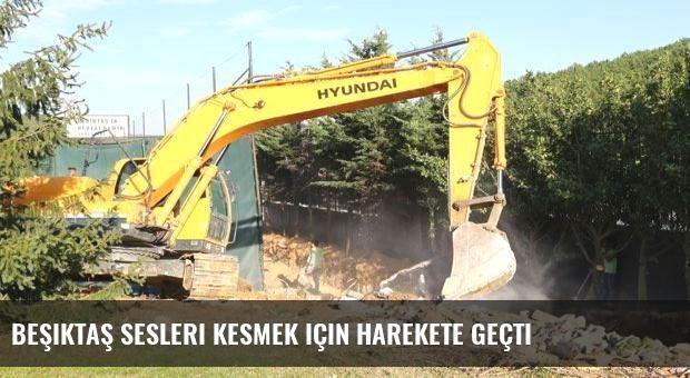 Beşiktaş sesleri kesmek için harekete geçti