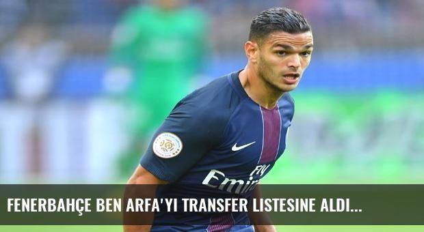 Fenerbahçe Ben Arfa'yı transfer listesine aldı