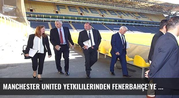 Manchester United yetkililerinden Fenerbahçe'ye ziyaret