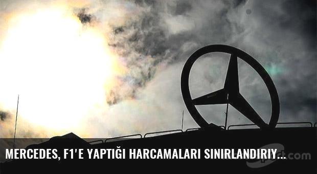Mercedes, F1'e yaptığı harcamaları sınırlandırıyor