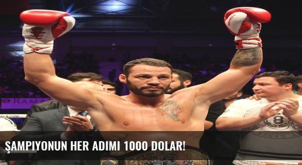 Şampiyonun Her Adımı 1000 Dolar!
