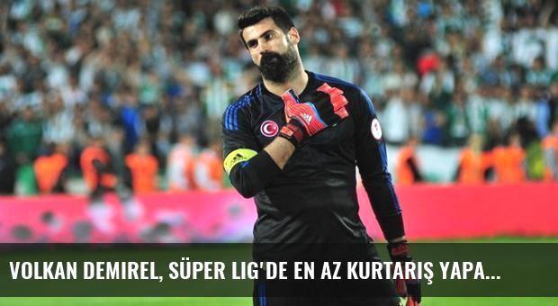 Volkan Demirel, Süper Lig'de En Az Kurtarış Yapan Kaleci Oldu
