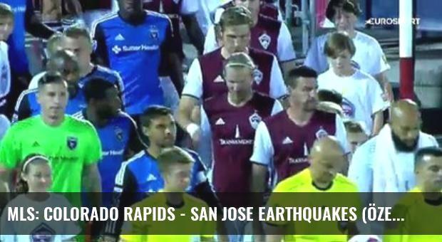Mls: Colorado Rapids - San Jose Earthquakes (Özet)