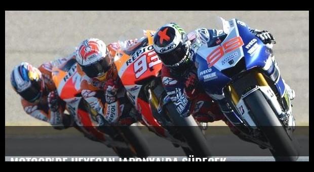 MotoGP'de heyecan Japonya'da sürecek