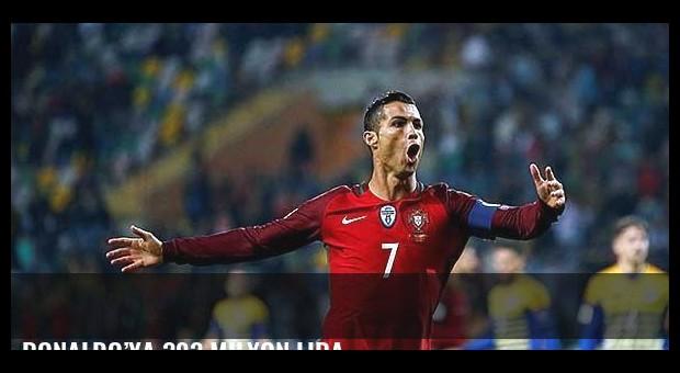 Ronaldo'ya 393 milyon lira