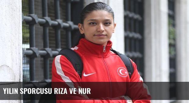 Yılın sporcusu Rıza ve Nur