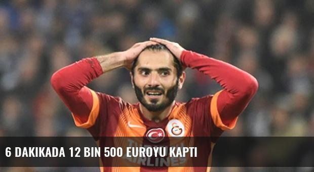 6 Dakikada 12 Bin 500 Euroyu Kaptı