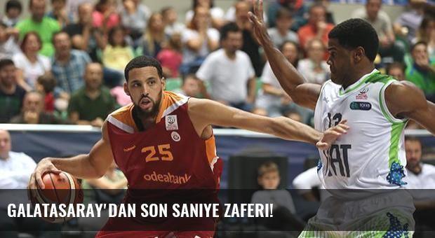 Galatasaray'dan son saniye zaferi!