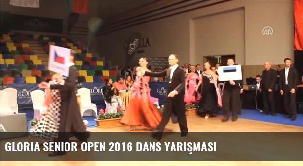 Gloria Senior Open 2016 Dans Yarışması