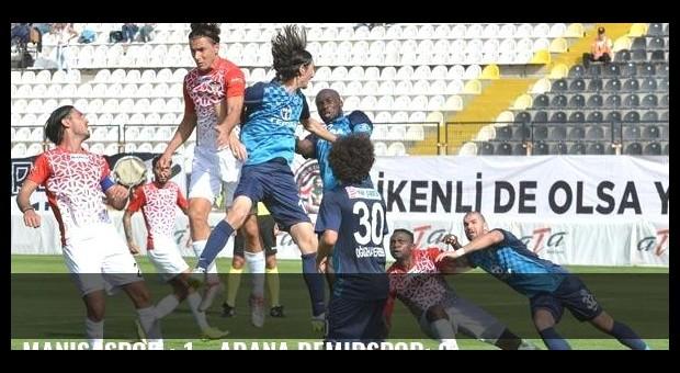 Manisaspor : 1 - Adana Demirspor: 2