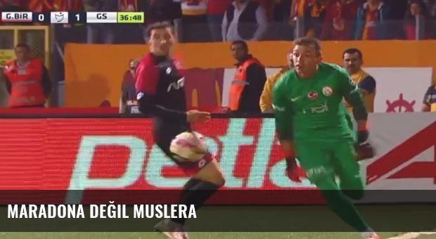 Maradona değil Muslera