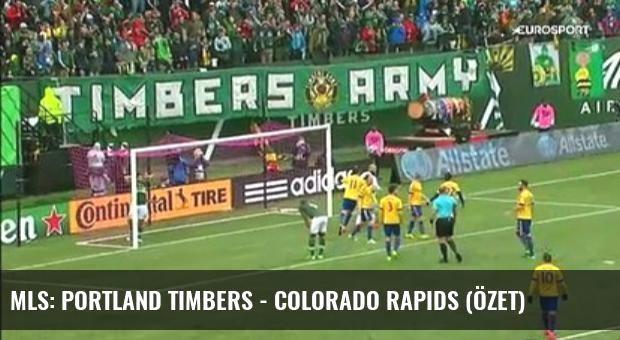 Mls: Portland Timbers - Colorado Rapids (Özet)
