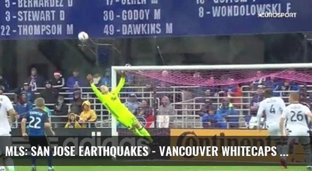Mls: San Jose Earthquakes - Vancouver Whitecaps (Özet)