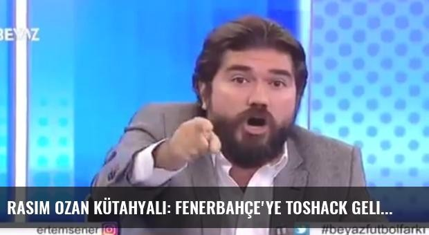 Rasim Ozan Kütahyalı: Fenerbahçe'ye Toshack Geliyor