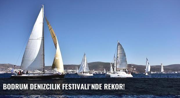 Bodrum Denizcilik Festivali'nde rekor!