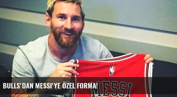 Bulls'dan Messi'ye özel forma!