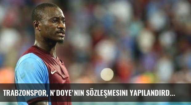 Trabzonspor, N'Doye'nin sözleşmesini yapılandırdı