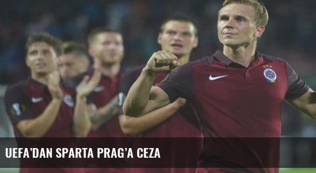 UEFA'dan Sparta Prag'a ceza
