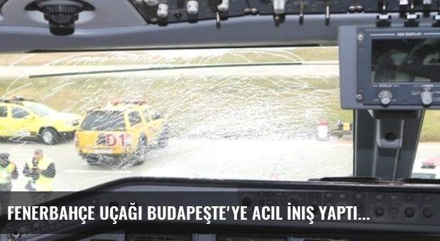 Fenerbahçe Uçağı Budapeşte'ye Acil İniş Yaptı