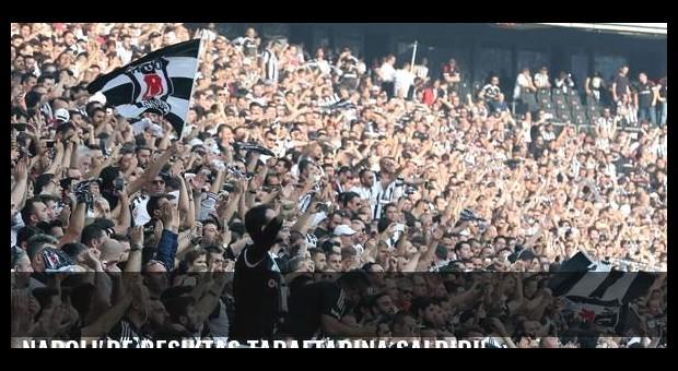 Napoli'de Beşiktaş taraftarına saldırı!
