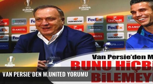 Van Persie'den M.United yorumu