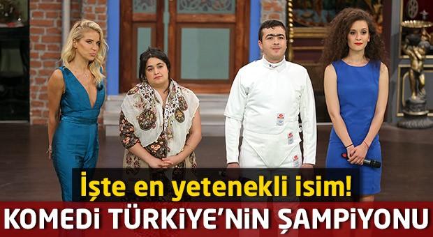 Komedi Türkiye'nin şampiyonu belli oldu!