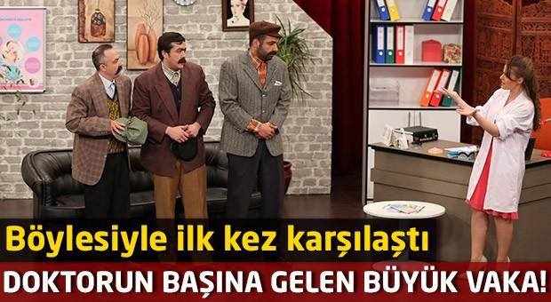 Sefa Hebipoğlu'ndan 'Çocuğu Olmayan Çift' skeci!