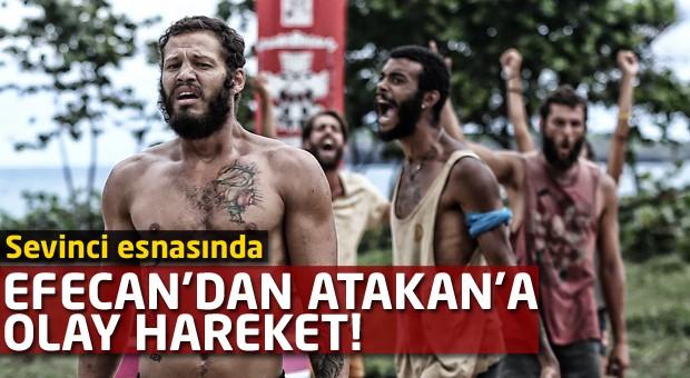 Efecan'dan Atakan'a olay hareket!