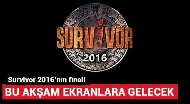 Survivor 2016'nın finali bu akşam ekrana gelecek