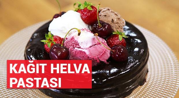 Kağıt Helva Pastası tarifi (04/07/2016)