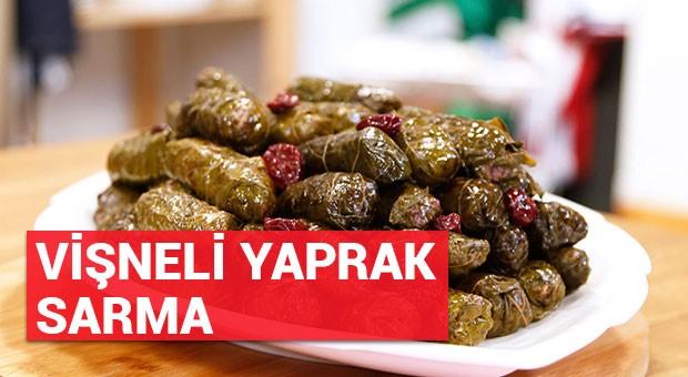 Vişneli Yaprak Sarma tarifi (04/07/2016)